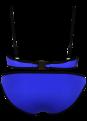 Bright Diving Suit Material-neoprene Bikini Set