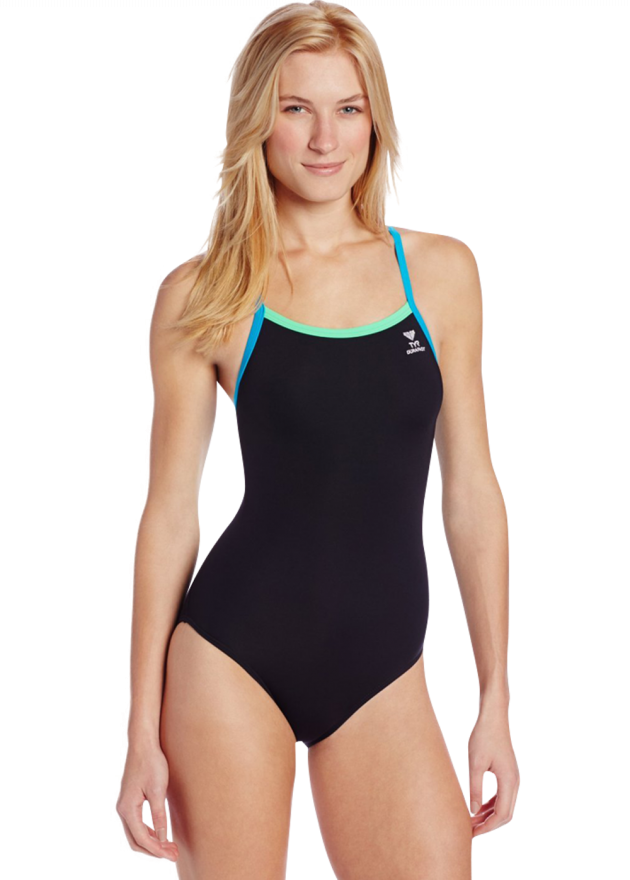 Solid Brite Diamondfit Swimsuit